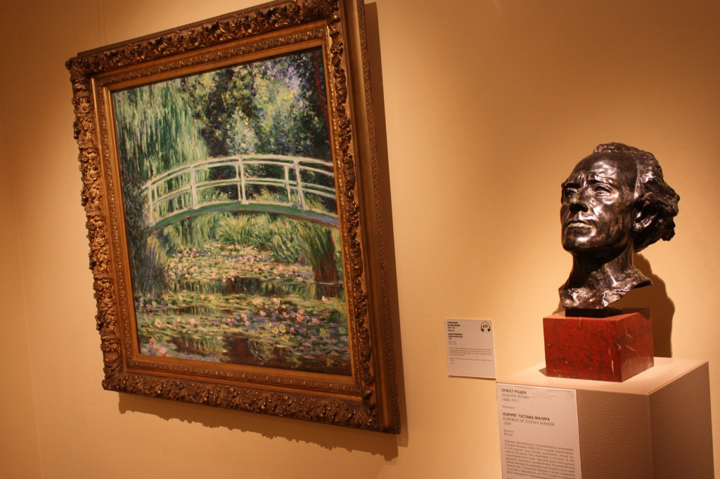 Giverny door Monet en Mahler door Rodin