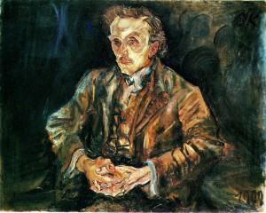 Adolf Loos door Kokoschka 1909