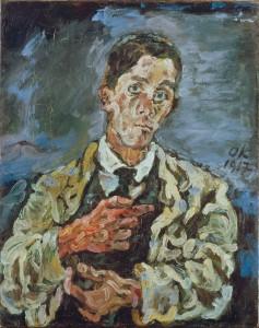 Kokoschka zelfportret 1917