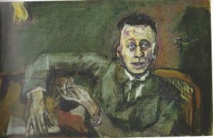 Karl Kraus door Kokoschka 1925