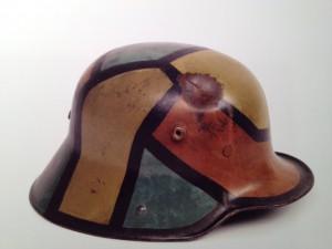 Duitse fauvistische helm