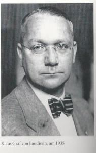 Graf von Baudissin, organisator van de in beslagnemingen