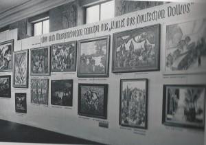 Tentoonstelling Entartete Kunst 1937