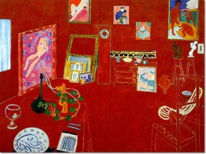 Matisse L'atelier rouge 1911