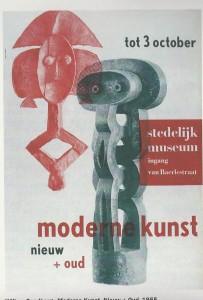 Affiche Sandberg tentoonstelling Stedelijk