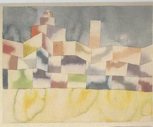 Paul Klee Oosterse Architectuur 1929