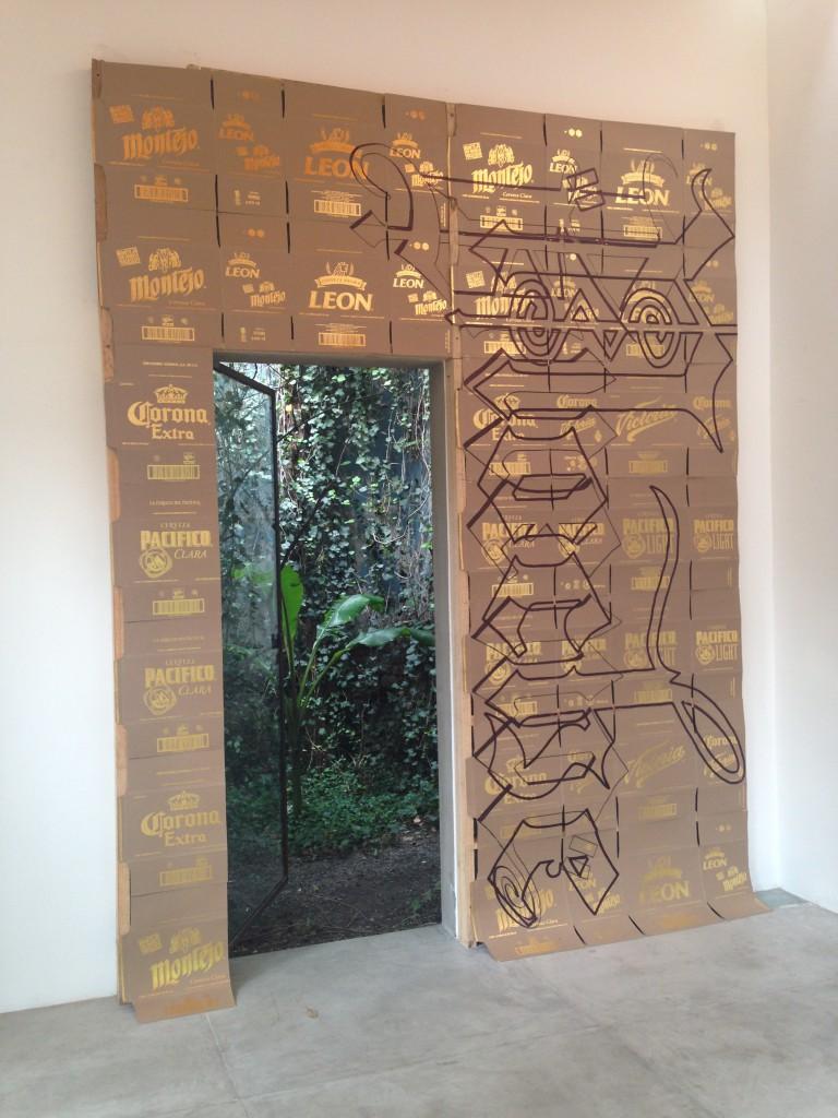 Volgens Kreuk het aansprekende werk dat bij een Mexicaanse galerie is verkocht. Ging echter om Mexicaans Coronabier
