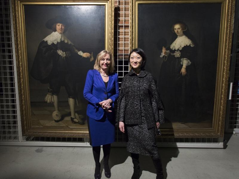 Het echtpaar gescheiden door twee ministers